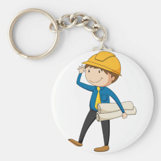 Engineer Keychain