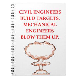 ENGINEER NOTEBOOKS