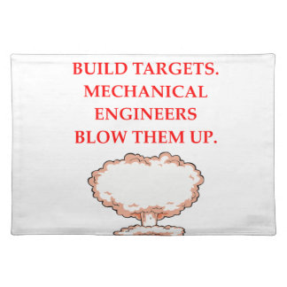 ENGINEER PLACEMAT