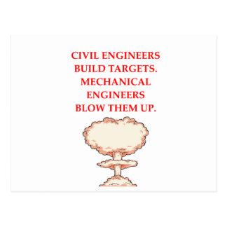 ENGINEER POSTCARD