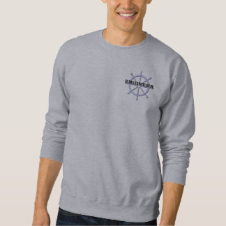 Engineer Ship Wheel Mens Sweatshirt