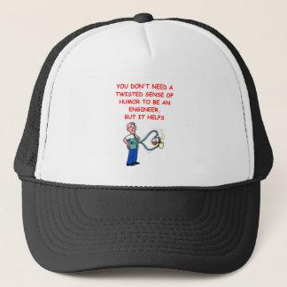 engineer trucker hat
