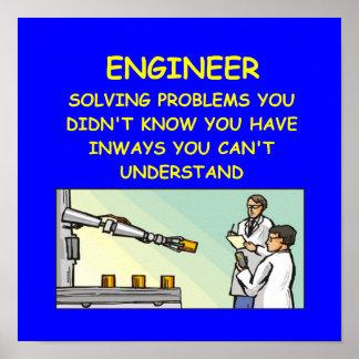 engineering joke poster