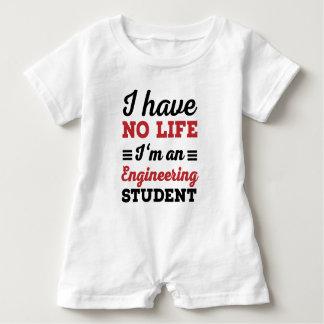 engineering student baby romper