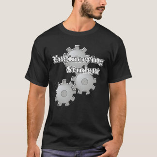 Engineering Student on Black T-Shirt