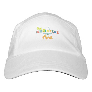 Engineers are born in April Zjz85 Hat