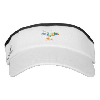 Engineers are born in April Zjz85 Visor