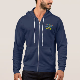 Engineers are born in August Z281z Hoodie