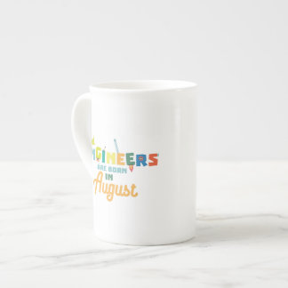 Engineers are born in August Z479b Tea Cup