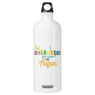 Engineers are born in August Z479b Water Bottle