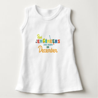 Engineers are born in December Z6r6a Dress
