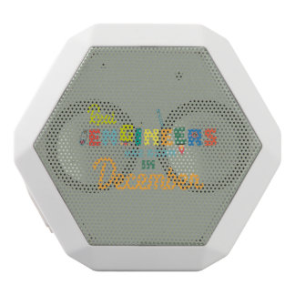 Engineers are born in December Z6r6a White Bluetooth Speaker