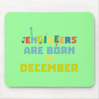 Engineers are born in December Zma90 Mouse Pad