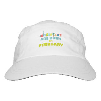 Engineers are born in February Zbv9q Hat