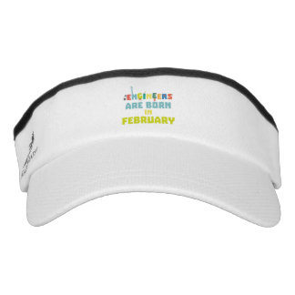 Engineers are born in February Zbv9q Visor