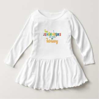 Engineers are born in February Zltl5 Dress