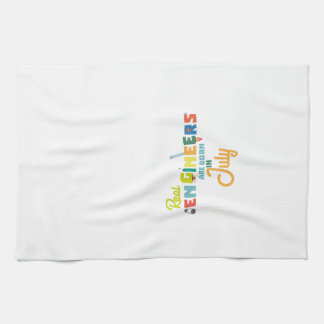 Engineers are born in July Z6n9z Kitchen Towel