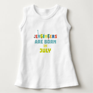 Engineers are born in July Zw3c8 Dress