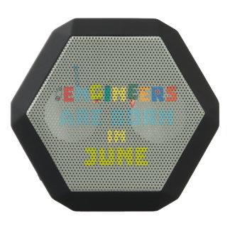 Engineers are born in June Zo3k7 Black Bluetooth Speaker