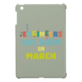 Engineers are born in March Za0s2 iPad Mini Cover