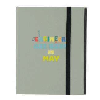 Engineers are born in May Z863d iPad Folio Case
