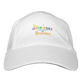Engineers are born in November Z9g4h Hat