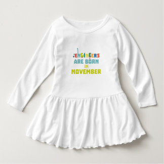 Engineers are born in November Za7ra Dress