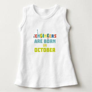 Engineers are born in October Z3zoj Dress