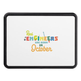 Engineers are born in October Zs52p Trailer Hitch Cover