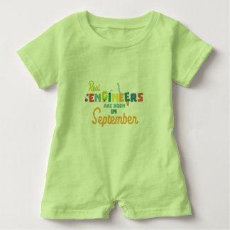 Engineers are born in September Zt500 Baby Romper