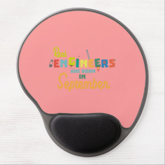 Engineers are born in September Zt500 Gel Mouse Pad