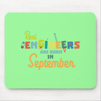 Engineers are born in September Zt500 Mouse Pad