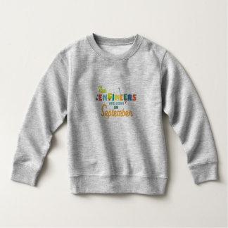 Engineers are born in September Zt500 Sweatshirt
