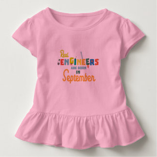 Engineers are born in September Zt500 Toddler T-shirt