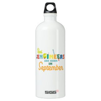 Engineers are born in September Zt500 Water Bottle