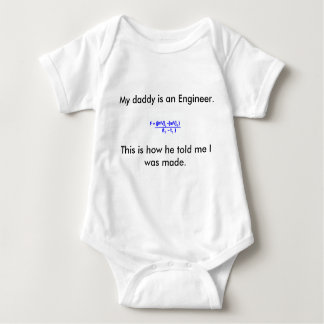 Engineers baby baby bodysuit