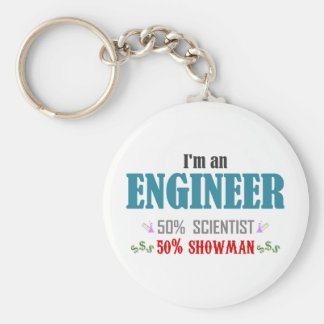 Engineer's composition keychains