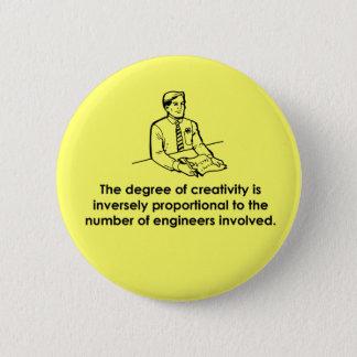 Engineers & Creativity 2 Inch Round Button