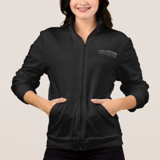 Engineers Develop Women's Zip Jogging Jacket