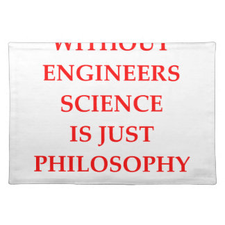 ENGINEERS PLACEMAT