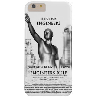 Engineers Rule Barely There iPhone 6 Plus Case