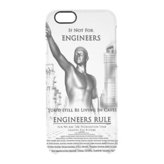 Engineers Rule Clear iPhone 6/6S Case