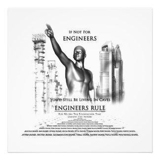 Engineers Rule Photo Print