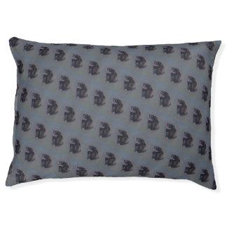 Engish Cocker Spaniel dog. Fine art painting. Pet Bed