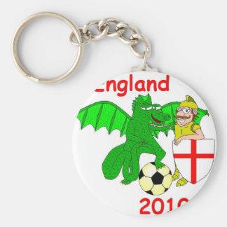 England 2010 keychain