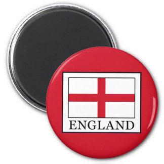England 2 Inch Round Magnet