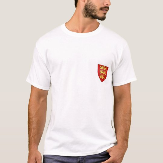 England 3 lions tag T-Shirt