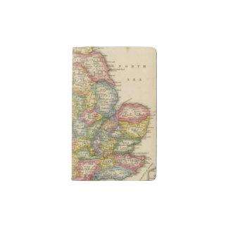England and Wales Pocket Moleskine Notebook