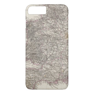 England Atlas Map iPhone 7 Plus Case