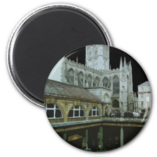 England Bath Cathedral Magnet